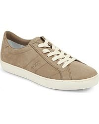 Tod's Low Suede Trainer - For Men - Lyst