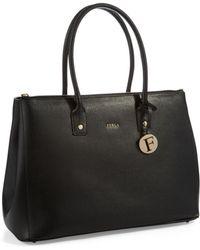 Furla Leather Linda Tote - Lyst