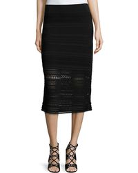 Ohne Titel | Crochet-knit Midi Pencil Skirt | Lyst