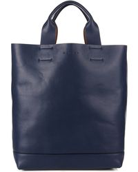 Marni - Soft Leather Tote - Lyst