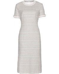 Thom Browne Tweed Dress - Lyst
