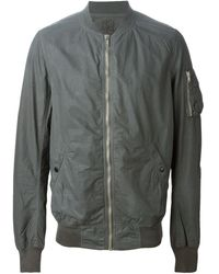 DRKSHDW by Rick Owens Classic Bomber Jacket - Lyst