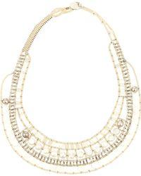 Ziio - Nil Nacre Multi-Stone Pearl Necklace - Lyst