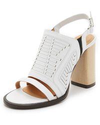 Thakoon Addition - Lizzy Wooden Heel Sandals - Lyst