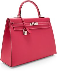 Heritage Auctions Special Collection Hermes 35cm Rose Tyrian Epsom Leather Sellier Kelly - Lyst