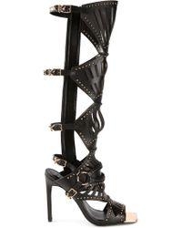 Ivy Kirzhner | Venezian Laser Cut Sandals | Lyst