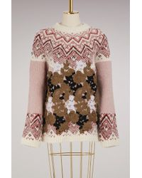 Moncler Gamme Rouge - Maple Alpaca Sweater - Lyst