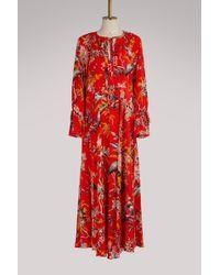 Diane von Furstenberg   Long Sleeved Dress   Lyst