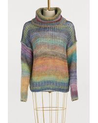 Roberto Collina - Striped Knitted Sweater - Lyst