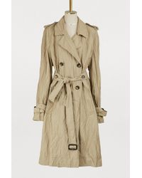 JW Anderson - Crinkle Trench Coat - Lyst