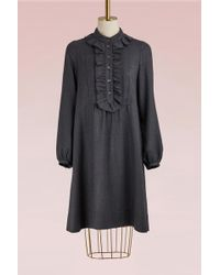 A.P.C. - Virgin Wool Anita Dress - Lyst