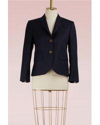 Thom Browne - Wool Blazer Jacket - Lyst