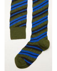 Marni - Striped Knit Socks - Lyst