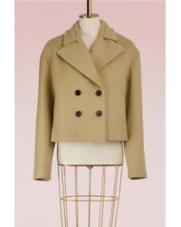 Carven - Wool Ball Coat - Lyst