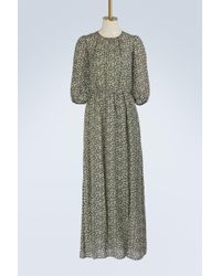 Vanessa Bruno | Silk Ijka Long Dress | Lyst