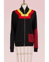 JOUR/NÉ - Zipped Jersey Sweater - Lyst