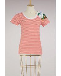 Michaela Buerger - Flowers Cotton T-shirt - Lyst