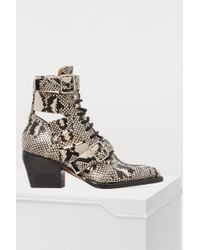 Chloé - Rylee Ankle Boots - Lyst