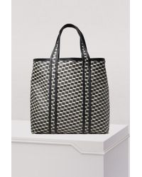 Pierre Hardy - Canvas Cube Calf Tote - Lyst