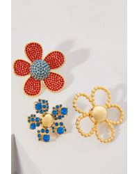 Marc Jacobs - Daisy Pave Brooch Set - Lyst