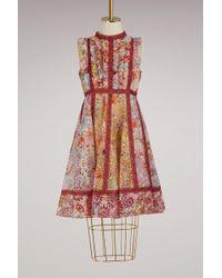 Valentino - Short Sleeveless Dress - Lyst