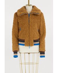 Marco De Vincenzo - Furry Zipped Jacket - Lyst