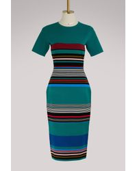 Diane von Furstenberg   Short Sleeve Midi Dress   Lyst