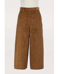 See By Chloé - Corduroy Culottes - Lyst