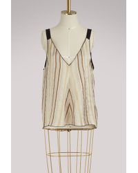 Forte Forte - Striped Top - Lyst