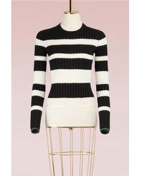 Proenza Schouler - Striped Wool Sweater - Lyst