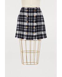 Thom Browne - Tartan Wool Skirt - Lyst