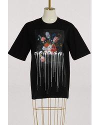 Alexander McQueen - Paint Drip Over T-shirt - Lyst