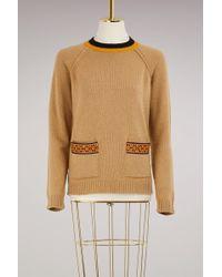Etro - Wool Cashmere Knitwear - Lyst