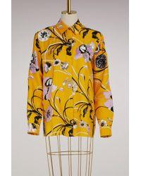Emilio Pucci - Embroided Silk Pyjama Shirt - Lyst