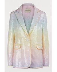 Marco De Vincenzo - Rainbo Sequined Jacket - Lyst