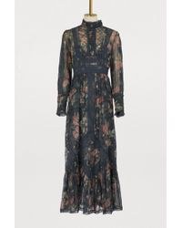 Zimmermann - Silk Maxi Dress - Lyst