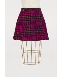 JOUR/NÉ - Short Houndstooth Skirt - Lyst