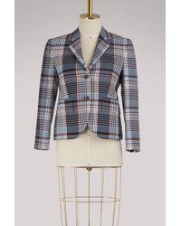 Thom Browne - Checked Wool Blazer - Lyst
