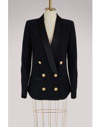 Balmain - Belted Jacket - Lyst