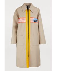 df0007624806 Women's Miu Miu Raincoats and trench coats On Sale - Lyst