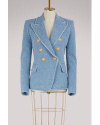 Balmain - Waisted Jacket - Lyst