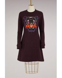 KENZO - Iger Fit And Flare Dress - Lyst