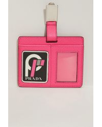 Prada - Luggage Tag - Lyst