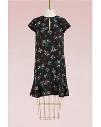 RED Valentino - Wallpaper Print Dress - Lyst