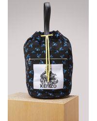 KENZO   Velvet Memento Flowers Bag   Lyst