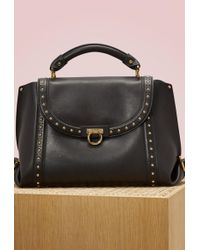 Ferragamo - Sofia Leather Handbag - Lyst