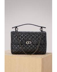 Valentino - Large Rockstud Spike Shoulder Bag - Lyst
