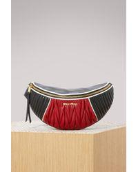 Miu Miu - Race Belt Bag - Lyst