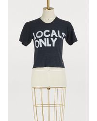 """Aviator Nation - Black """"locals Only"""" Tee - Lyst"""