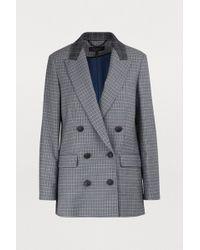 Rag & Bone - Ellie Checked Blazer Jacket - Lyst